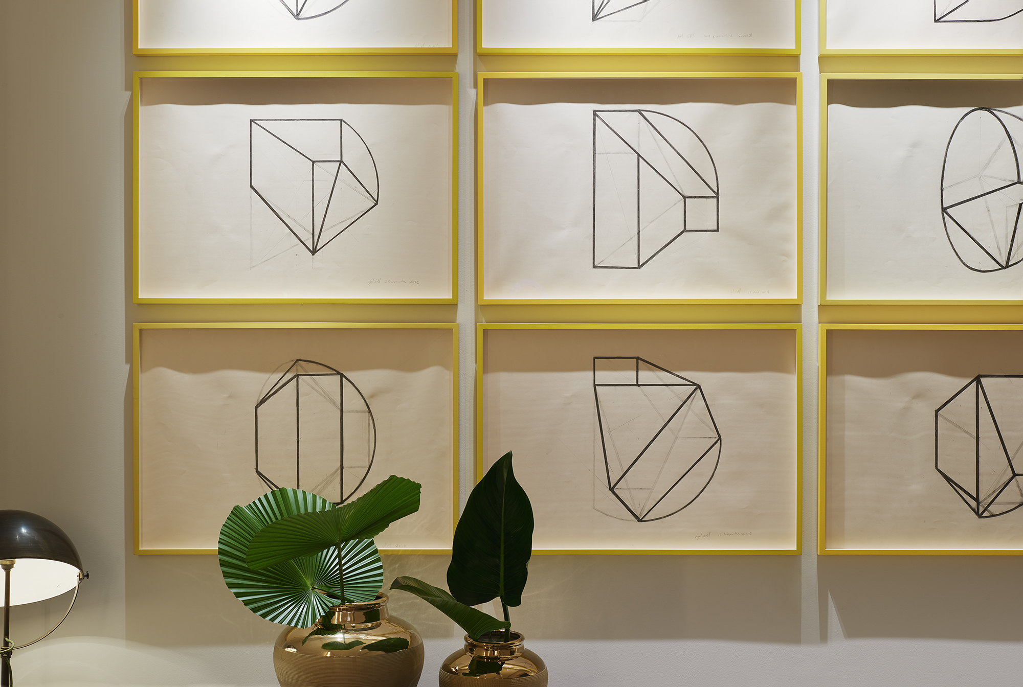 As well as sourcing art pieces, Studio Mackereth curated all aspects of the interiors - the soft ambient lighting, the fresh flowers -  even the books on the shelves in the libraries.